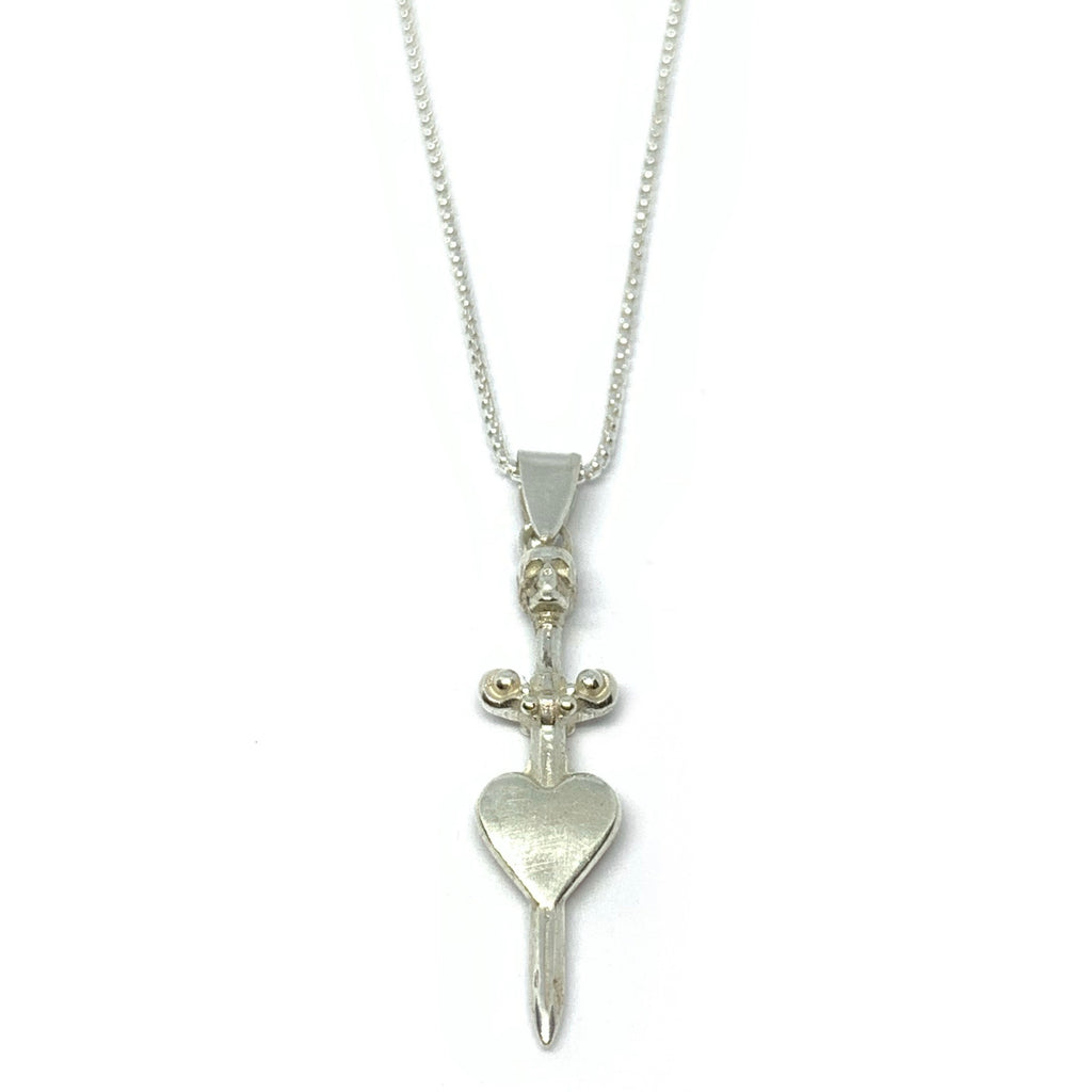 STERLING SILVER MISERY NECKLACE