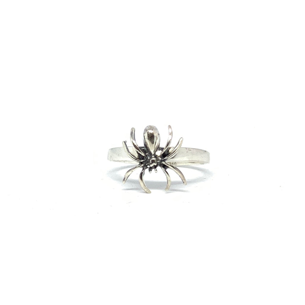 Handcrafted Solid Sterling SIlver | Spider Ring | SEAMS Jewelry