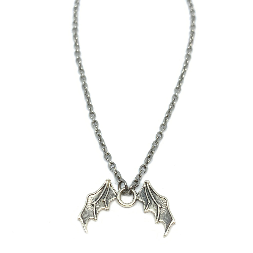 UNISEX Designer Necklaces | Bat Wing Necklace  | Seams Jewelry
