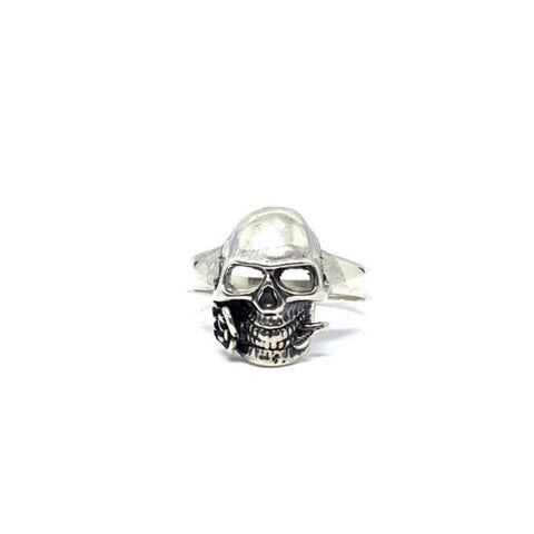 "STERLING SILVER ""GENTLEMAN"" RING"