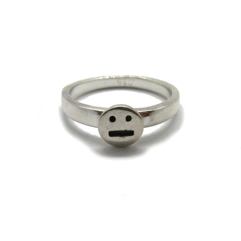 Handcrafted Sterling SIlver | Smiley Mood Ring | SEAMS Jewelry