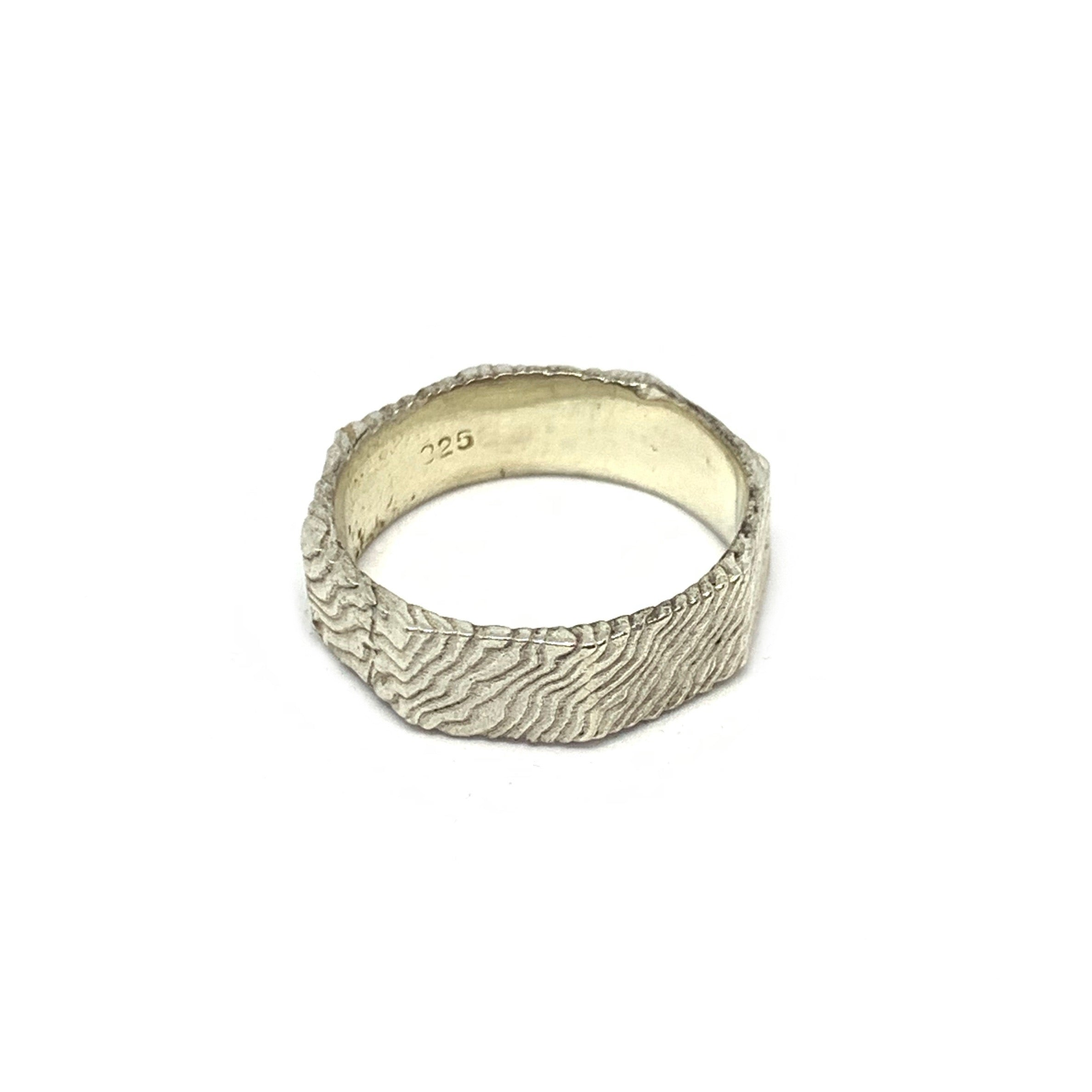 STERLING SILVER NUT RING