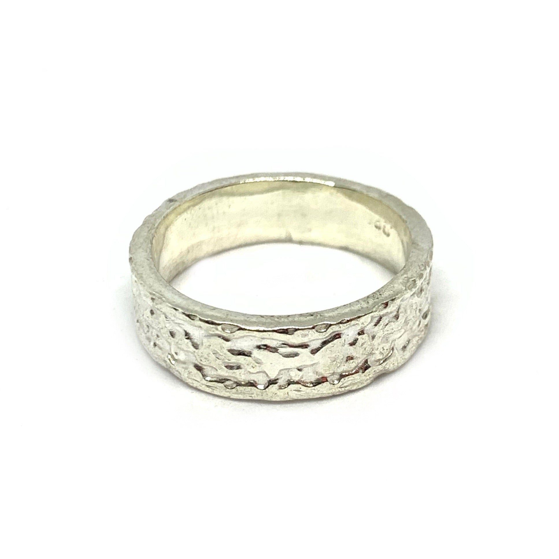 STERLING SILVER RAINFALL RING