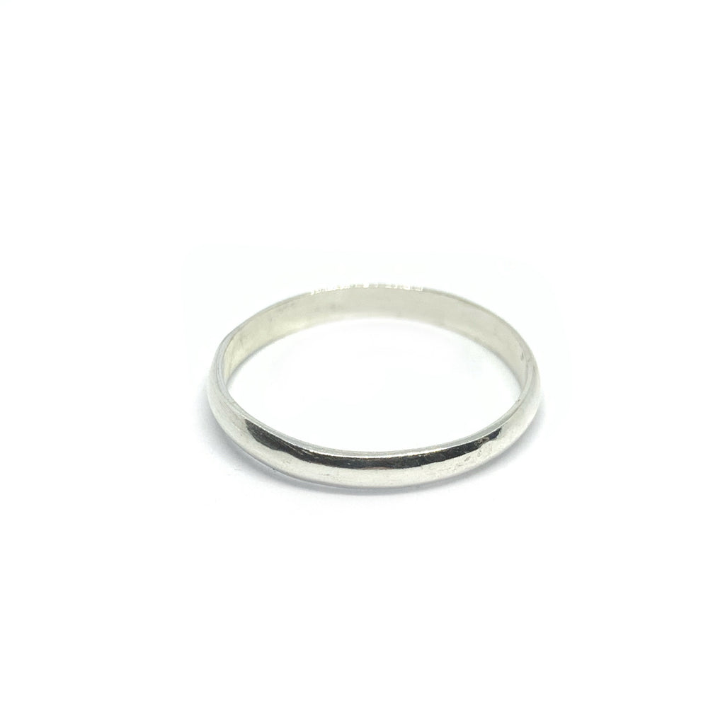 STERLING SILVER BASIC RING