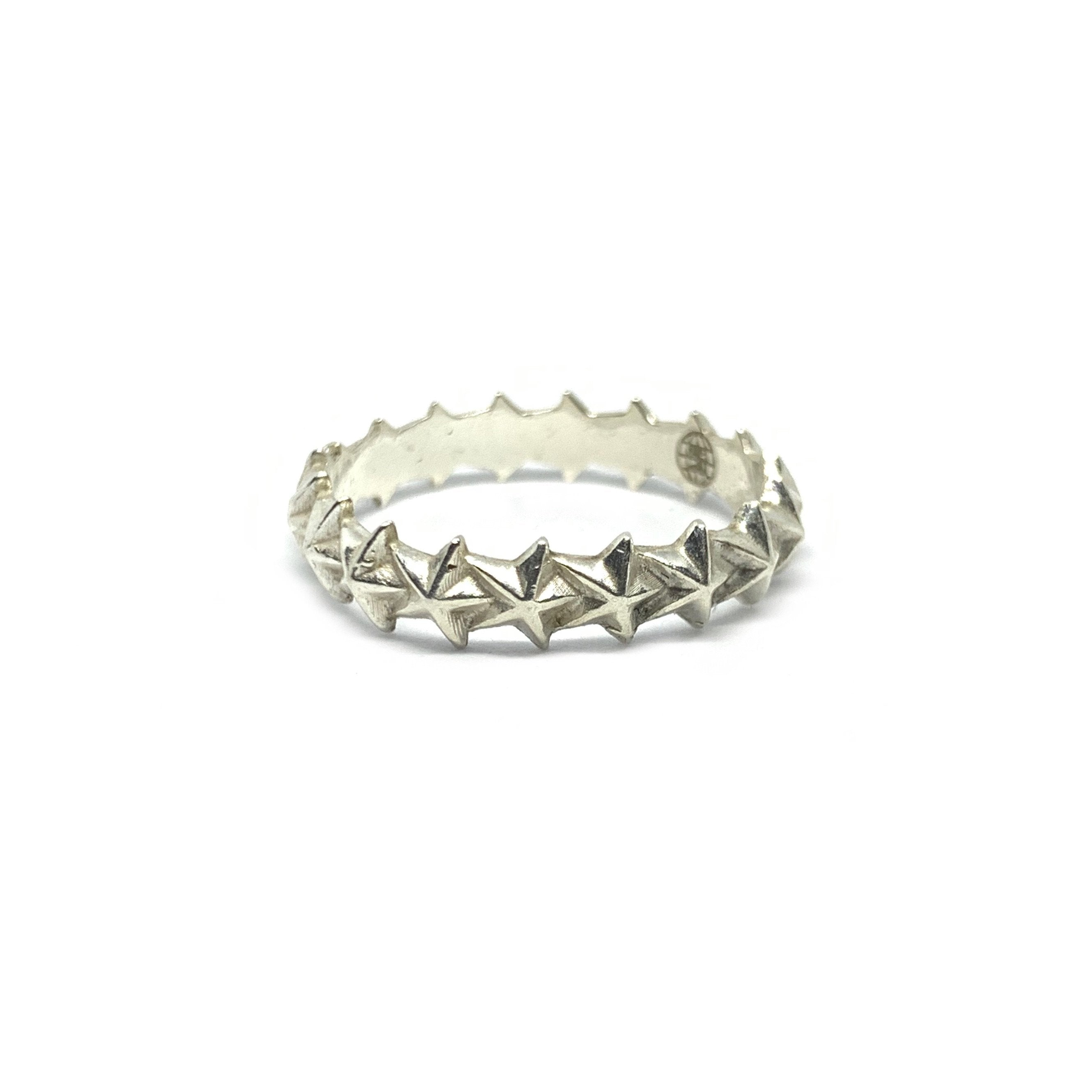 Handcrafted Solid Sterling SIlver | Star Ring | SEAMS Jewelry