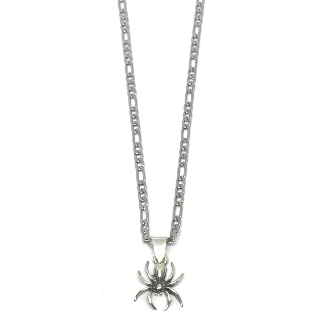 MINIMALISTIC SPIDER NECKLACE | SEAMS JEWELRY | STERLING SILVER