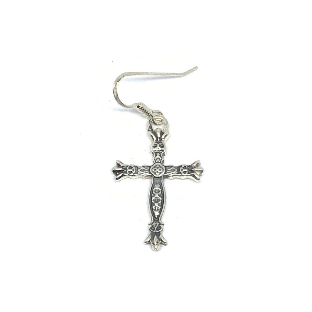 Cross Earring Design | Croix Earring  | Seams Jewelry