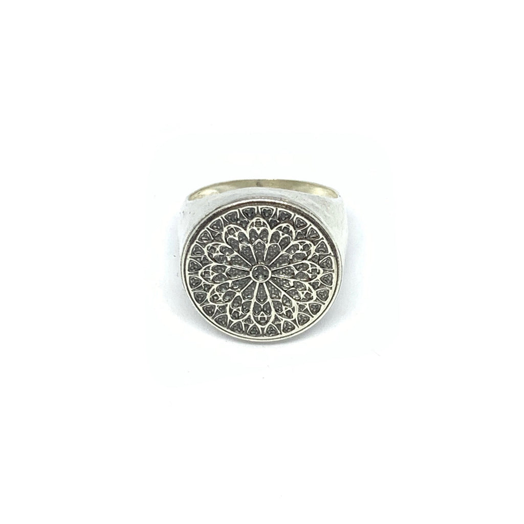 STERLING SILVER CHÂTEAU RING