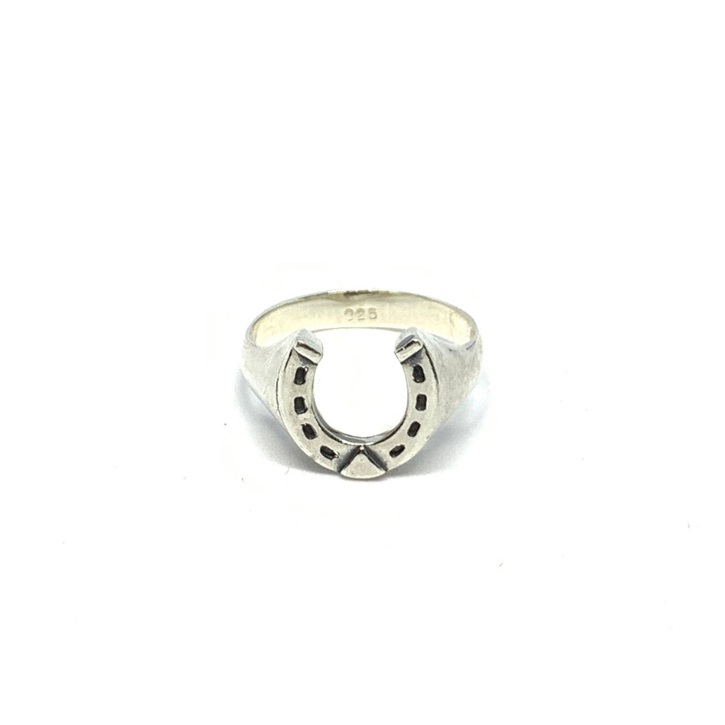 Handcrafted Sterling SIlver | Horseshoe Ring | SEAMS Jewelry