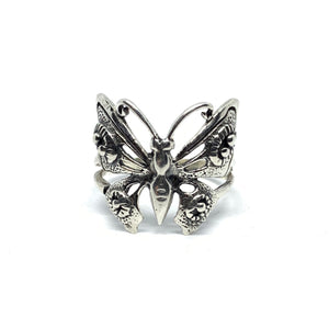 Handcrafted Sterling SIlver | Butterfly Ring | SEAMS Jewelry