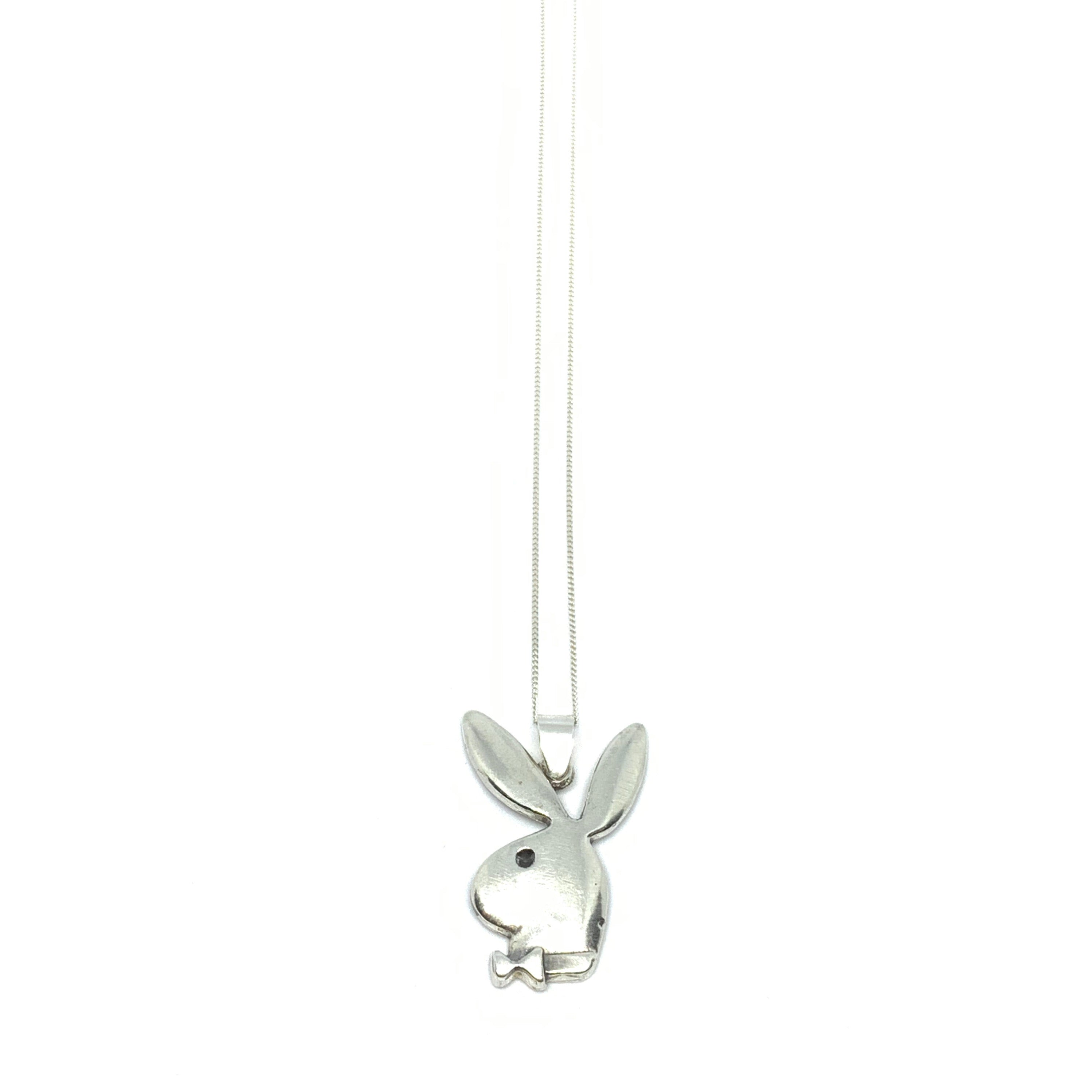 Handcrafted Sterling SIlver | Playboy Necklace | SEAMS Jewelry