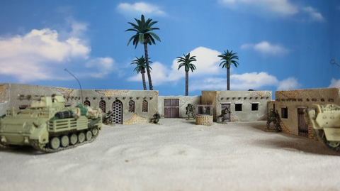 Army - Fort & 2 Story House Set Large