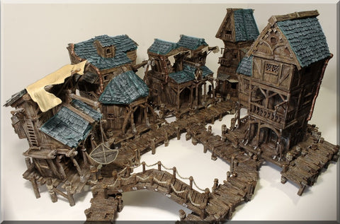 Wood - Fishing Village Ultimate Collection Set
