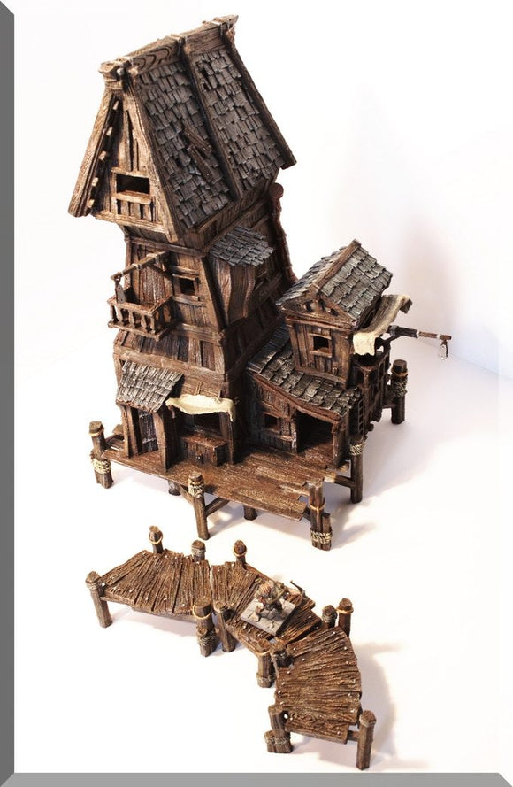 Village House #4 - OTP Terrain & Miniatures Off The Print Gaming