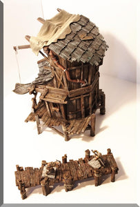 Village House #1 - OTP Terrain & Miniatures Off The Print Gaming