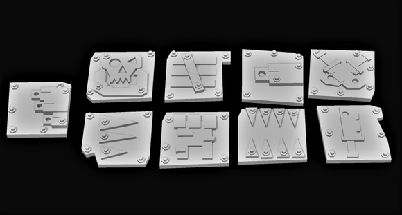 Glyph Set - OTP Terrain & Miniatures Off The Print Gaming