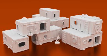 Underhive Container Hab Buildings
