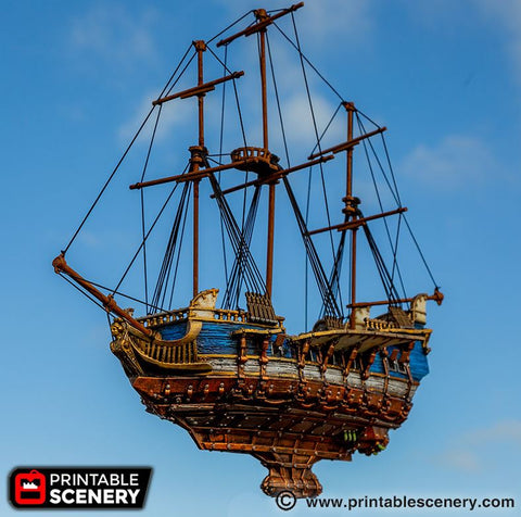 SHIPS – OTP Terrain & Miniatures Off The Print Gaming