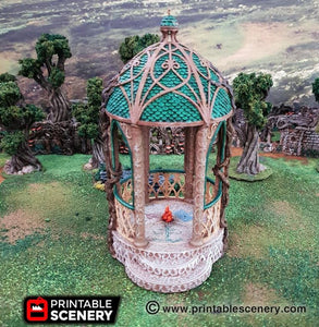 Elven Scenery – OTP Terrain & Miniatures Off The Print Gaming