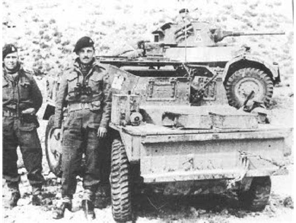 Dingo Armoured Scout Car