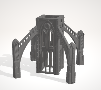 6mm 1x1 Tower With Buttress