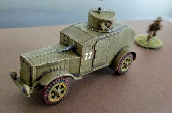 Japanese Type 92 Hokoku Go Armoured Car