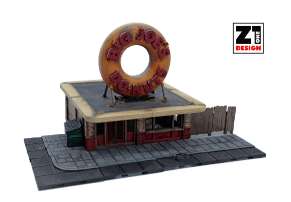 Big Joe's Do-Nuts - OTP Terrain & Miniatures Off The Print Gaming