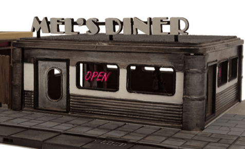 Mel's Diner - OTP Terrain & Miniatures Off The Print Gaming