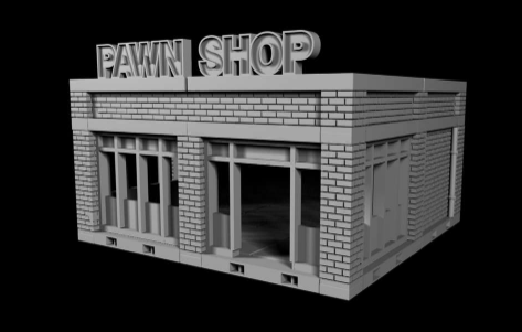 Pawn Shop - OTP Terrain & Miniatures Off The Print Gaming