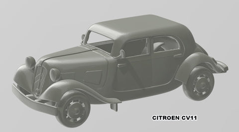 Citroen CV11 no windows