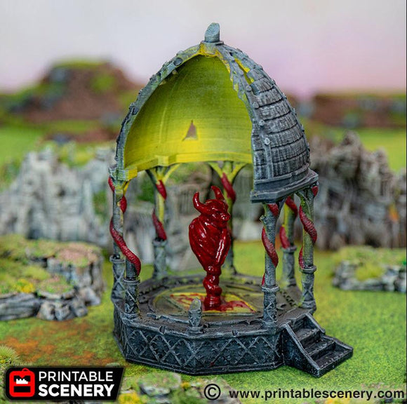 Daemon Dais - OTP Terrain & Miniatures Off The Print Gaming