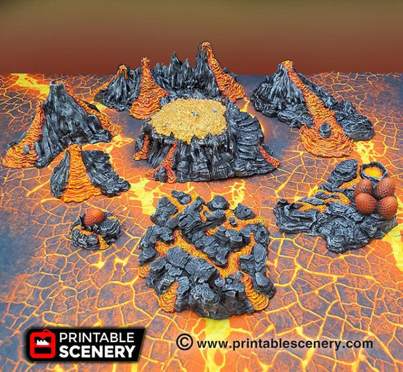 Dragons Lair - OTP Terrain & Miniatures Off The Print Gaming