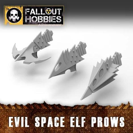 EVIL SPACE ELF PROWS