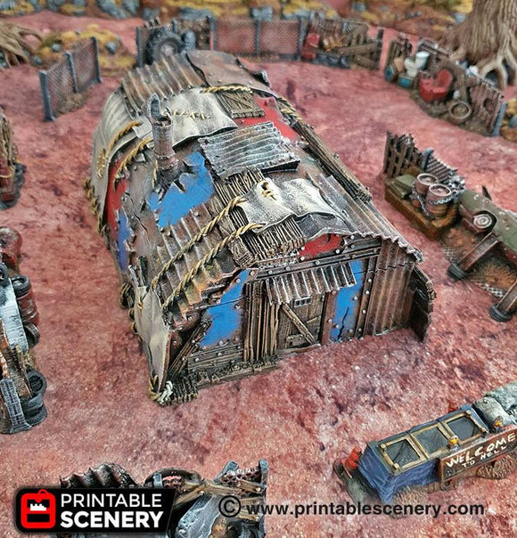 Isolation Bunker - OTP Terrain & Miniatures Off The Print Gaming