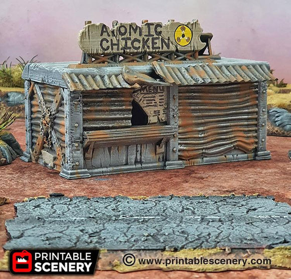 Junkfood Franchise - OTP Terrain & Miniatures Off The Print Gaming