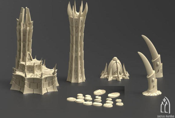City Of Irazar Set B - OTP Terrain & Miniatures Off The Print Gaming