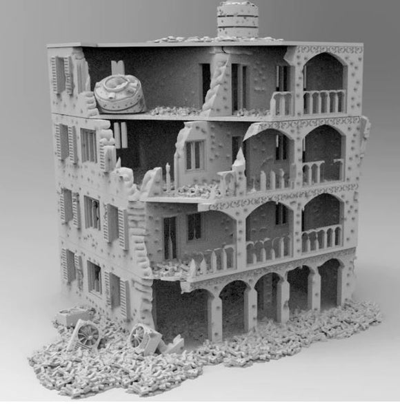 Damaged Hotel & Accessories - 28mm - 20mm