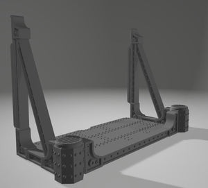 Balconies & Ramp Sets - 2 x 1 One part Balcony