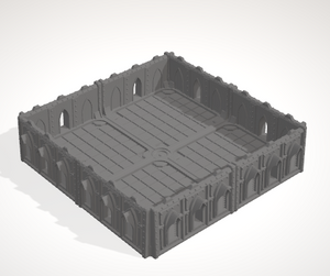 6mm 2x2 Gothic With 4 Side Barricades