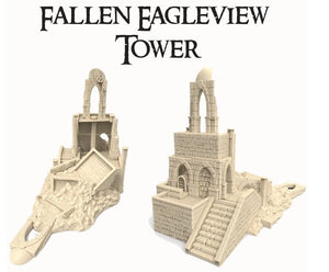 Fallen Eagleview Tower