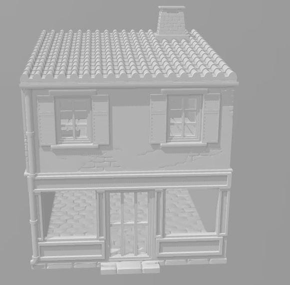 2 Story Shop - OTP Terrain & Miniatures Off The Print Gaming