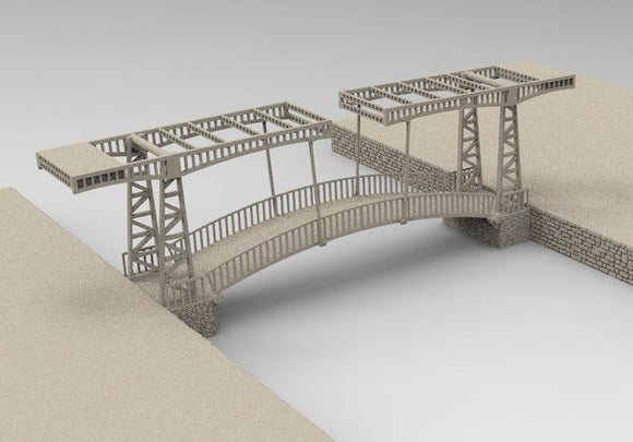 Dutch Bridge Double Sided - OTP Terrain & Miniatures Off The Print Gaming