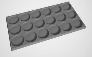 Set of 2 (32mm bases 3x6 18 Man Movement Tray)
