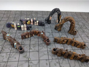 Wet Caverns Wall Sticks Expansion Set
