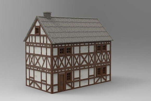German Timbered Houses & Barn