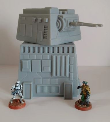 Turbo Imperial Laser Tower Gun