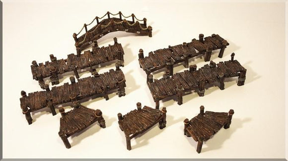 Board Walk Sets - OTP Terrain & Miniatures Off The Print Gaming