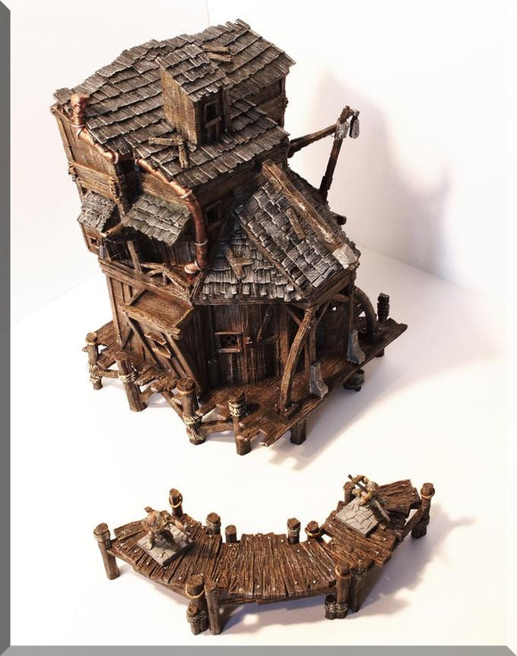 Village House #2 - OTP Terrain & Miniatures Off The Print Gaming