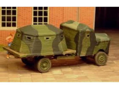 British Bison Armoured Lorry