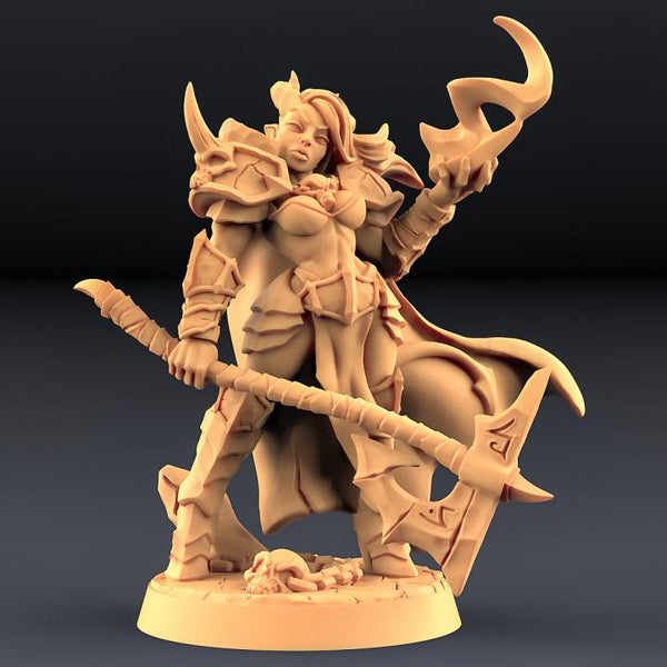 Diabolica the Eternal - Abyss Demons Hero - OTP Terrain & Miniatures Off The Print Gaming
